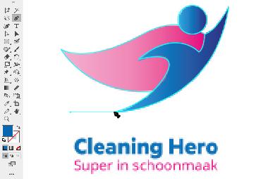 Logo in vector maken - stap 2